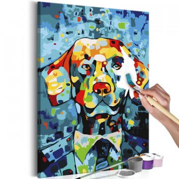 Pictatul pentru recreere - Dog Portrait