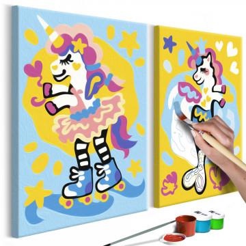 Pictatul pentru recreere - Funny Unicorns