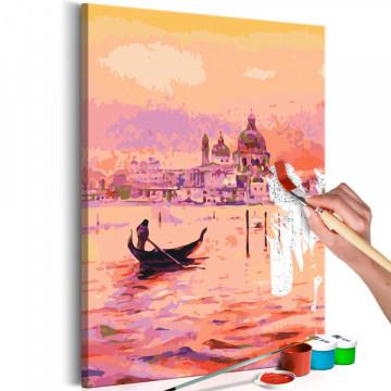 Pictatul pentru recreere - Gondola in Venice