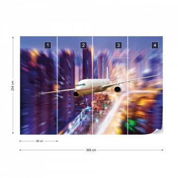 Plane Photo Wallpaper Wall Mural
