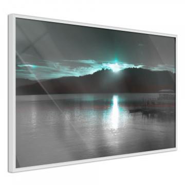 Poster - Aurora at the Horizon