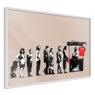 Poster - Banksy: Festival