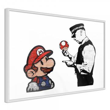 Poster - Banksy: Mario and Copper