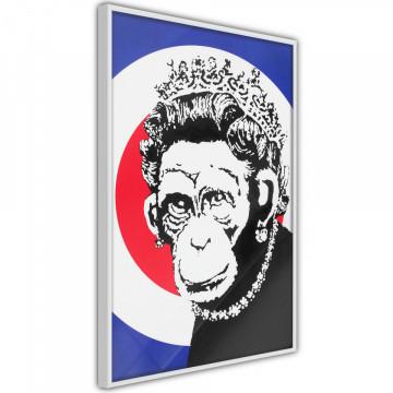 Poster - Banksy: Monkey Queen