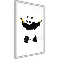 Poster - Banksy: Panda With Guns