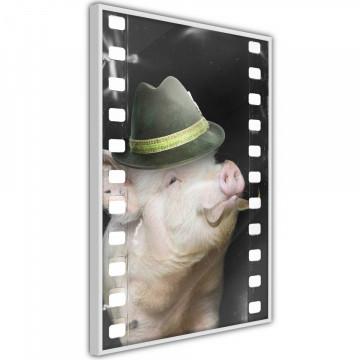 Poster - Dressed Up Piggy