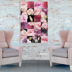 Poster - Floral Jigsaw