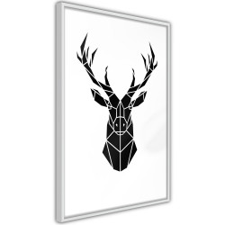 Poster - Geometric Stag