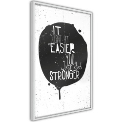 Poster - It Doesn't Get Easier