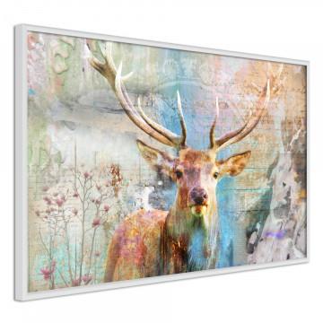 Poster - Pastel Deer