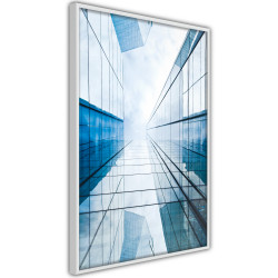 Poster - Steel and Glass (Blue)