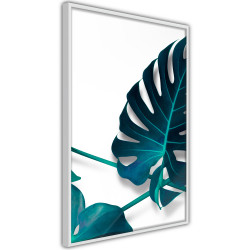 Poster - Turquoise Monstera I