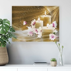 Spa Canvas Photo Print