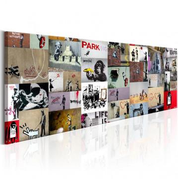 Tablou - Art of Collage: Banksy II