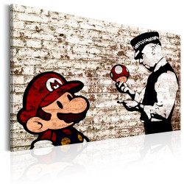 Tablou - Banksy: Torn Wall