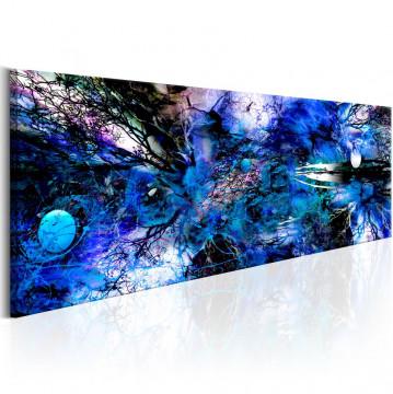 Tablou - Blue Artistic Chaos