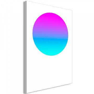 Tablou - Colourful Circle (1 Part) Vertical