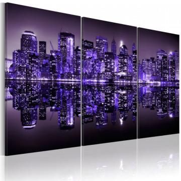 Tablou - Electrifying violet Manhattan