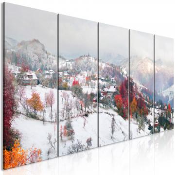 Tablou - First Snow (5 Parts) Narrow
