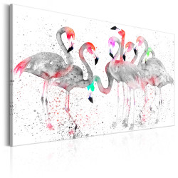 Tablou - Flamingoes Dance