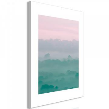 Tablou - Foggy Dawn (1 Part) Vertical
