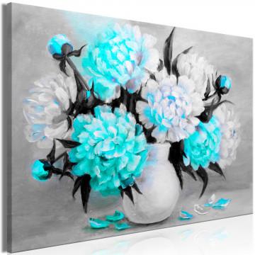 Tablou - Fragrant Colours (1 Part) Wide Blue