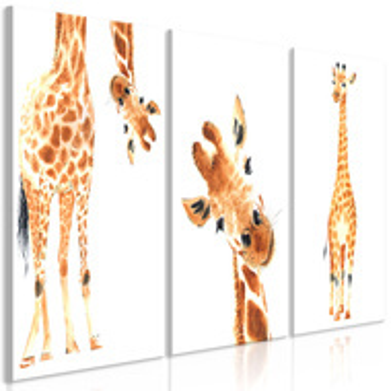 Tablou - Funny Giraffes (3 Parts)