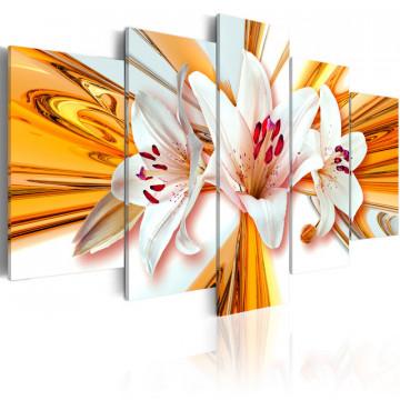 Tablou - Golden lilies