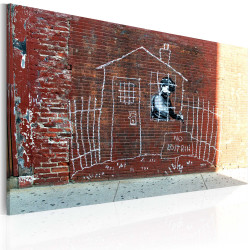 Tablou - Grounded (Banksy)