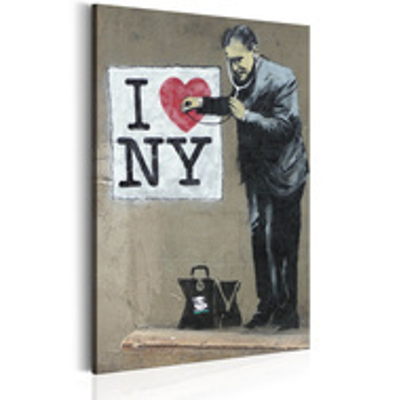 Tablou - I Love New York by Banksy