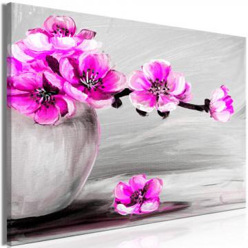 Tablou - Lightness of Light (1 Part) Wide Pink