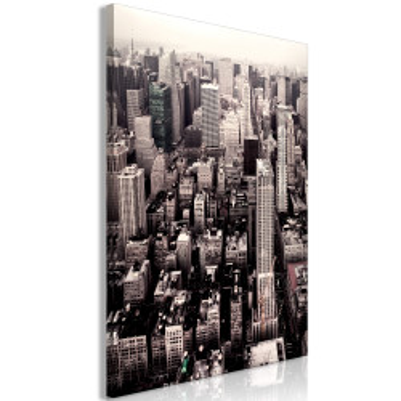 Tablou - Manhattan In Sepia (1 Part) Vertical