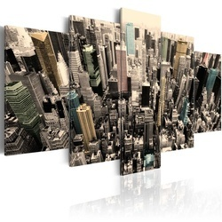 Tablou - New York, a view on the skyscrapers