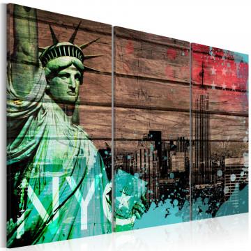 Tablou - NYC collage II