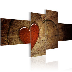 Tablou - Old love does not rust - 4 pieces