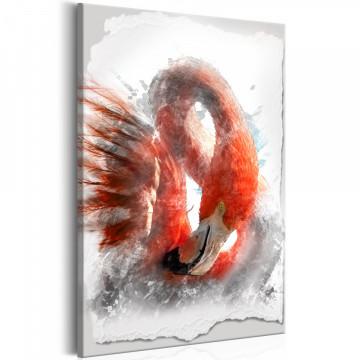 Tablou - Red Flamingo