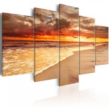Tablou - Sea: Beautiful Sunset