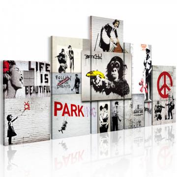 Tablou - Street Crimes: Banksy Art