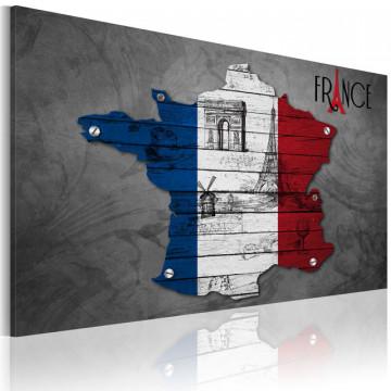 Tablou - Symbols of the France