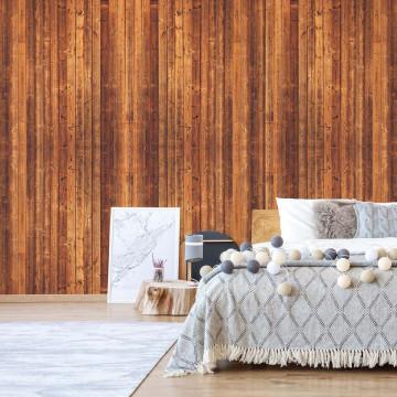Wood Planks Texture Photo Wallpaper Wall Mural