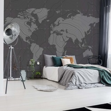 World Map Moderna