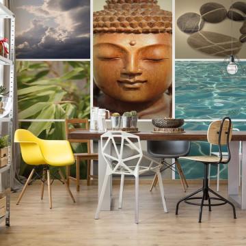 Zen Calming Scene Photo Wallpaper Wall Mural