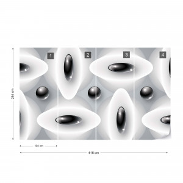 3D Abstract Pattern Photo Wallpaper Wall Mural