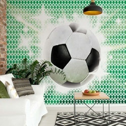 3D Football Photo Wallpaper Wall Mural