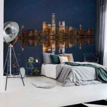 New York Skyline Photo Wallpaper Mural