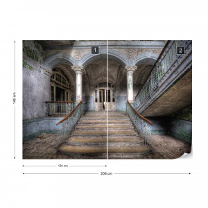 Abandonned Old Building Urbex Photo Wallpaper Wall Mural