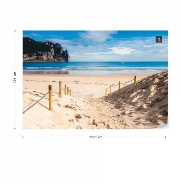 Beach Sea Coastal Photo Wallpaper Wall Mural