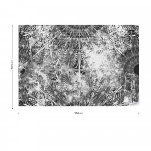 Black And White Vintage Grunge Design Photo Wallpaper Wall Mural