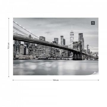 Brooklyn Bridge NYC in Black & White