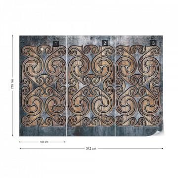 Celtic Swirls Photo Wallpaper Wall Mural